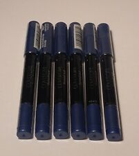 6 COVERGIRL Flamed Out SHADOW PENCIL CRAYON #360 INDIGO FLAME 2.3g each SEALED
