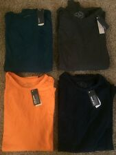 NWT Mens AMERICAN EAGLE Long SLeeve Tee Shirt, 4 colors