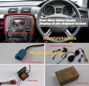 Rückfahrkamera für Mercedes Benz M ML R W164 W251 für COMAND Radio Navi