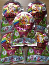 5 Tüten Filly Unicorn Silver / Je Tüte 1 Filly ,Sammelkarte ,Booklet / Neu  /OVP