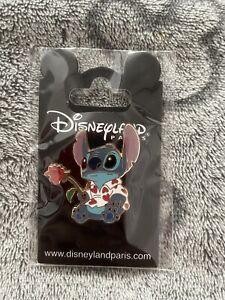 Disney Pin - Stitch In Heart Shirt - Valentine