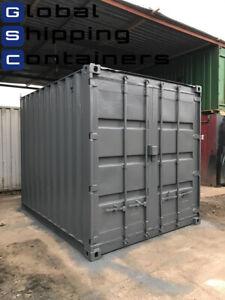 10ft x 8ft Grey Storage Container (Devon Area)