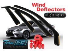 LEXUS IS  III  2013 -   4.doors  Wind deflectors  4.pc  HEKO  30021