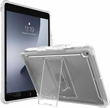 """For 2021 iPad 10.2"""" i-Blason Halo Slim Clear Case Stand Shell Pen Holder Cover"""