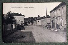 CPSM. VAUX sur BLAISE. 52 - Route de Rachecourt. 1939.