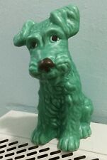 More details for sylvac green terrier dog 1379 superb early edition