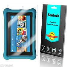"2X ZenTech Clear Screen Protector Guard For Amazon Fire Kids Edition 7"" (2015)"