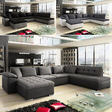 Ecksofa Schlaffunktion Eckcouch Nina! Modern Big Sofa Couchgarnitur Farbauswahl
