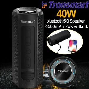 40W bluetooth 5.0 Speaker Tronsmart Element T6 Plus Waterproof Boombox Subwoofer