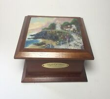 Jewelry Box Thomas Kinkade Lighthouse Light of Peace