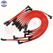 RED SPARK PLUG WIRE SET 10.5mm FOR 1992-1997 CHEVY GM LT1 LT4 5.7L 4.3L NEW