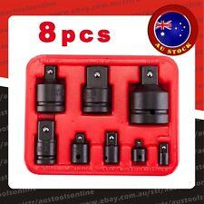 8pc Impact Socket Adaptor Set Ratchet Wrench Increaser Reducer Convertor Adapter
