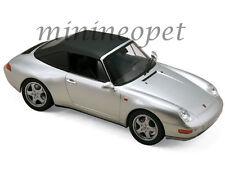 NOREV 187592 1994 94 PORSCHE 911 CABRIOLET 1/18 DIECAST MODEL CAR SILVER