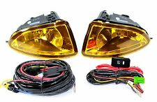 04-05 Honda Civic ES EM 2/4 Door JDM OE Yellow Fog Light Kit+ Harness Complete