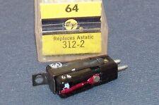 PHONOGRAPH RECORD CARTRIDGE NEEDLE Electro-Voice EV 64 replaces Astatic 312-2