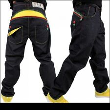 Dirty Money jeans, rasta/jamaica star nappy money pant, time is g urban hiphop