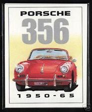 PORSCHE 356 - Original Collectors Cards - 356A, 356C Speedster, America Roadster