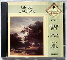 CD (s) - GRIEG / DVORAK - From Holberg Suite / Serenade of Stringorchestra