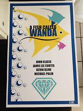 A Fish Called Wanda movie poster print
