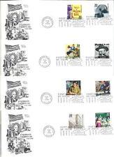 3186a-o Celebrate the Century 1940s 15  ArtCraft FDCs