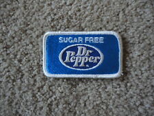 Sugar Free Dr Pepper Patch small -New Vintage Original 2 x 31/2 inches