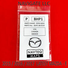 2015 2016 2017 Mazda 3 Mazda 6 CX-3 CX-5 Navigation SD Card BHP1 66 EZ1E
