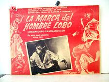 ¡ONLY AVAILABLE 24h.!/ LA MARCA DEL HOMBRE LOBO/PAUL NASCHY/1968/OPTIONAL SET/54