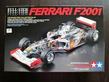 Vintage ! TAMIYA Full View 1/20 FERRARI F 2001 Ultra Rare Valuable !