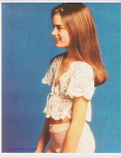 BROOKE SHIELDS ADORABLE CHILD MODEL GLAMOUR SHOT 1970S