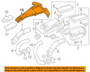 MERCEDES OEM 12-17 S550 4.6L-V8 Engine Appearance Cover-Engine Cover 2780105802