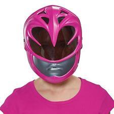 Pink Ranger Mask Power Rangers Movie Fancy Dress Halloween Costume Accessory