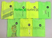 Men's Hurley Premium Tee Modern Fit Neon T-Shirt