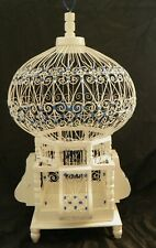 Wooden Bird Cage  HANDCRAFTED / vintage