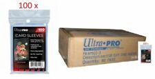 100 x 100 pochettes Ultra Pro carton de 10000 card sleeves cartes pokemon magic