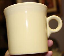 Homer Laughlin Fiesta (Pale) YELLOW Mug Tom & Jerry O-Ring Handle CLEAN EUC