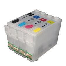 Refillable Ink Cartridge kit for EPSON Workforce WF-3620 3640 7110 7610 7620 252