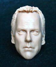 """1/6 scale plastic unpainted action figure head sculpt 24 jack bauer enterbay 12"""""""