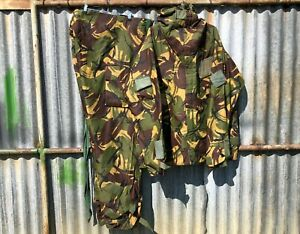 BRITISH ARMY ISSUE DPM No.I Mk.IV NBC SUIT SMOCK & TRS - USED - 180/100 200/116