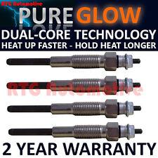 4x Diesel Heater Glow Plugs For Toyota Dyna Hiace Land Cruiser VW Taro 2.4 1.5
