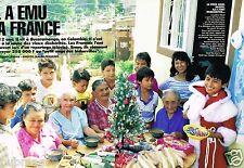 Coupure de Presse Clipping 1991 (5 pages) Colombie,ange des Bidonville Alveiro