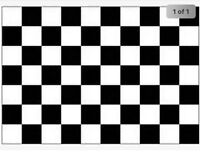Black & White Checkered Formula 1 F1 Large Flag 5 X 3 Ft  Eyelets For Hanging