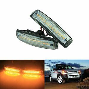 2x Fit Land Rover Discovery 3 4 Freelander 2 Sport Canbus LED Side Marker Lights