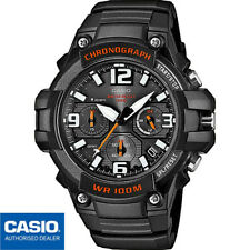 CASIO MCW-100H-1AVEF⎪MCW-100H-1A®️ORIGINAL✈️ENVIO CERTIFICADO⎪NEGRO💦SUMERGIBLE