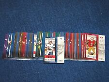 2013 PANINI CONTENDERS FOOTBALL COMPLETE SET W/O SP'S 1-100 (18-32)
