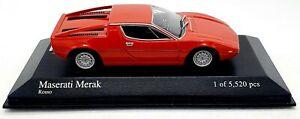 EBOND Modellino Maserati Merak - Minichamps - 1:43 - 0107.