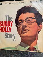 Buddy Holly, The Buddy Holly Story  Vinyl Record *USED*