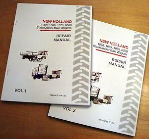 New Holland 1068 1069 1075 8500 Bale Wagon StackCruiser Service Repair Manual NH