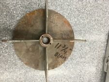 """PECO LAWN VAC 4 BLADE IMPELLER with 1"""" SHAFT BUSHING A0914"""