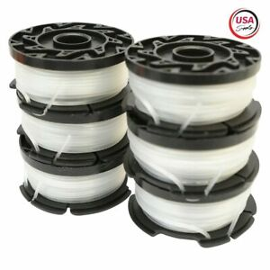 """Replacement for - BLACK+DECKER AF-100-3ZP 30ft .065"""" Trimmer Spool, 6-Pack"""