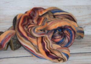 Wool Roving Blend Merino 4 ozs  Sandalwood